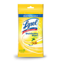 Lysol Disinfecting Wipes 80 Count Soft Pack - Lemon/Lime Blossom Scent