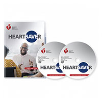 AHA 2020 Heartsaver First Aid CPR AED DVD Set