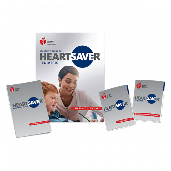 AHA 2020 Heartsaver Pediatric First Aid CPR AED Student Workbook