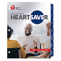 AHA 2020 Heartsaver First Aid CPR AED Instructor Manual