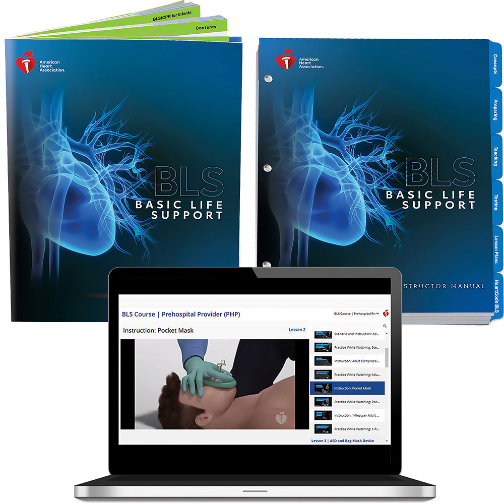 AHA 2020 BLS Instructor Package w/Digital Video