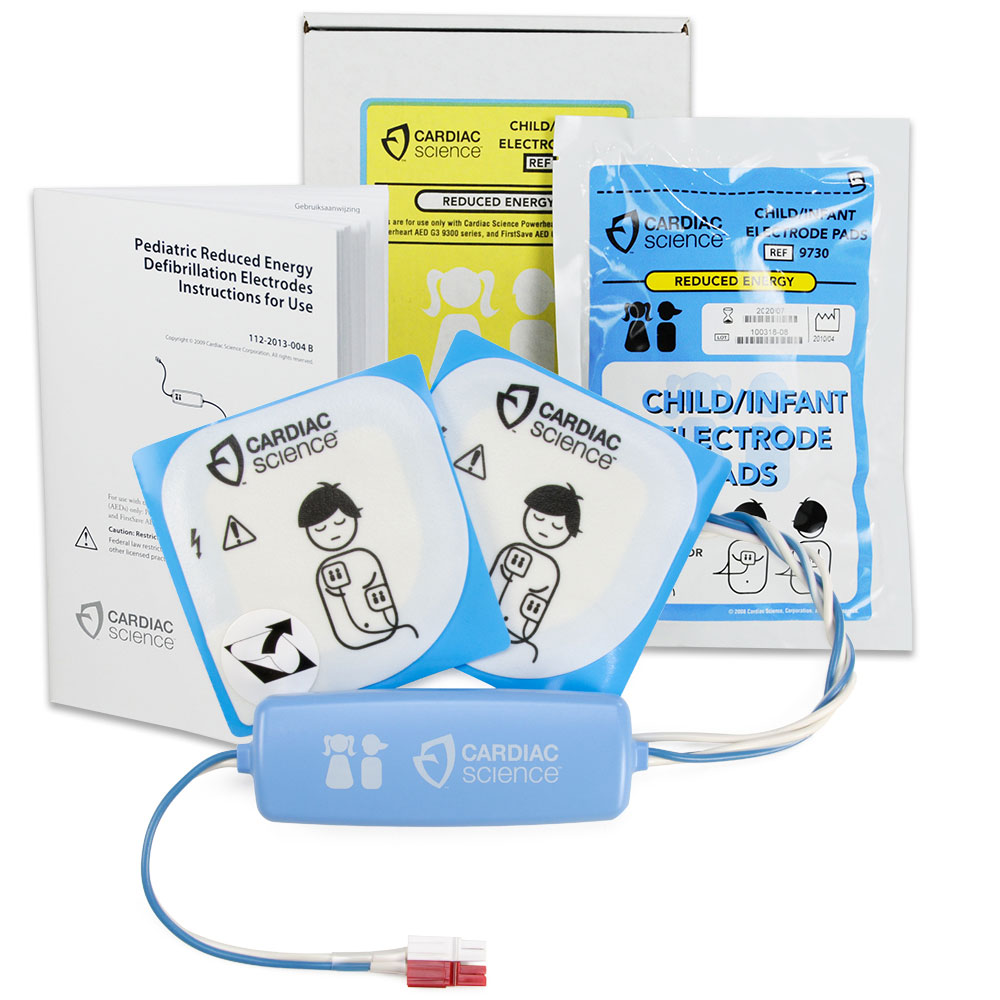 Cardiac Science Pediatric AED Electrode Pads