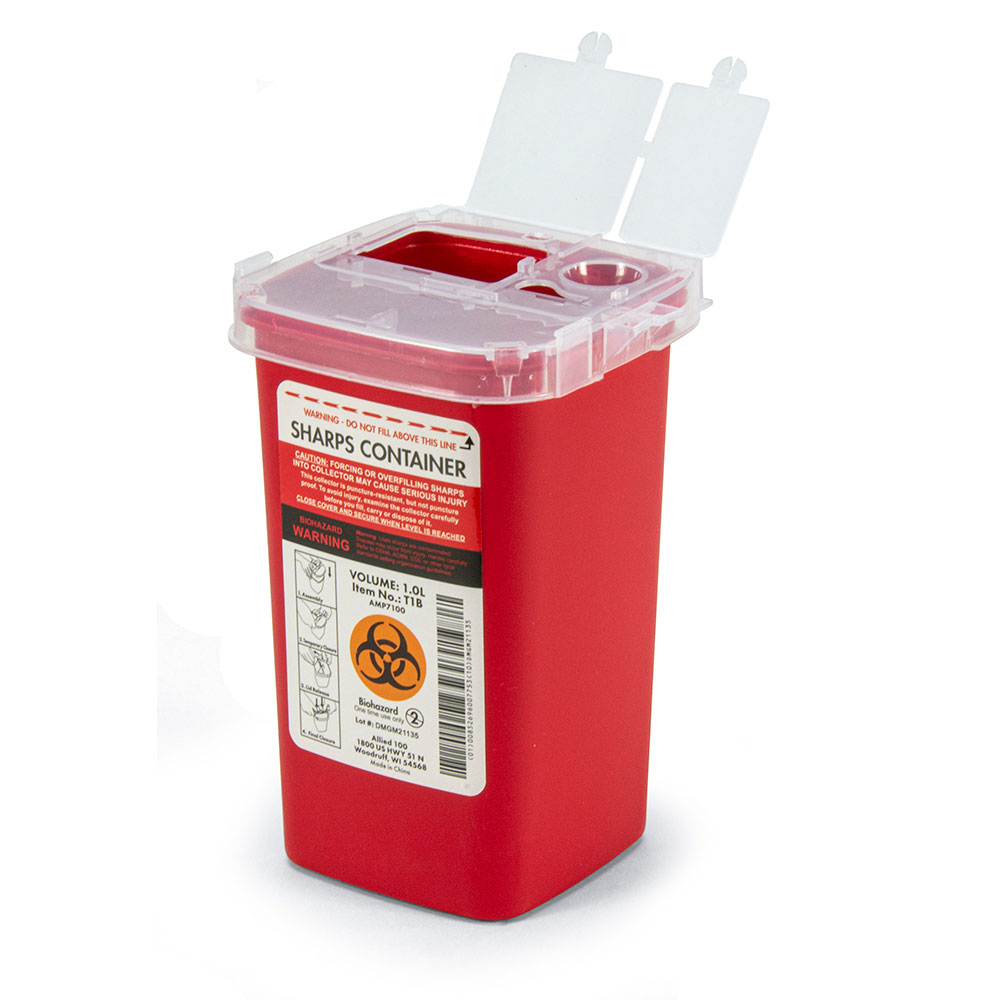 Sharps Container - 1.0L