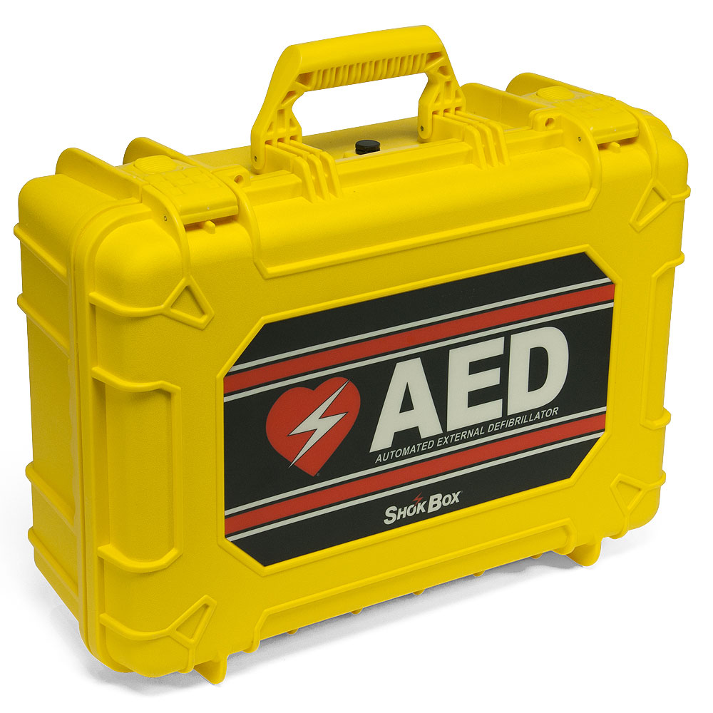 Shok Box® Hard Water-Resistant Carrying Case for the ZOLL AED Plus