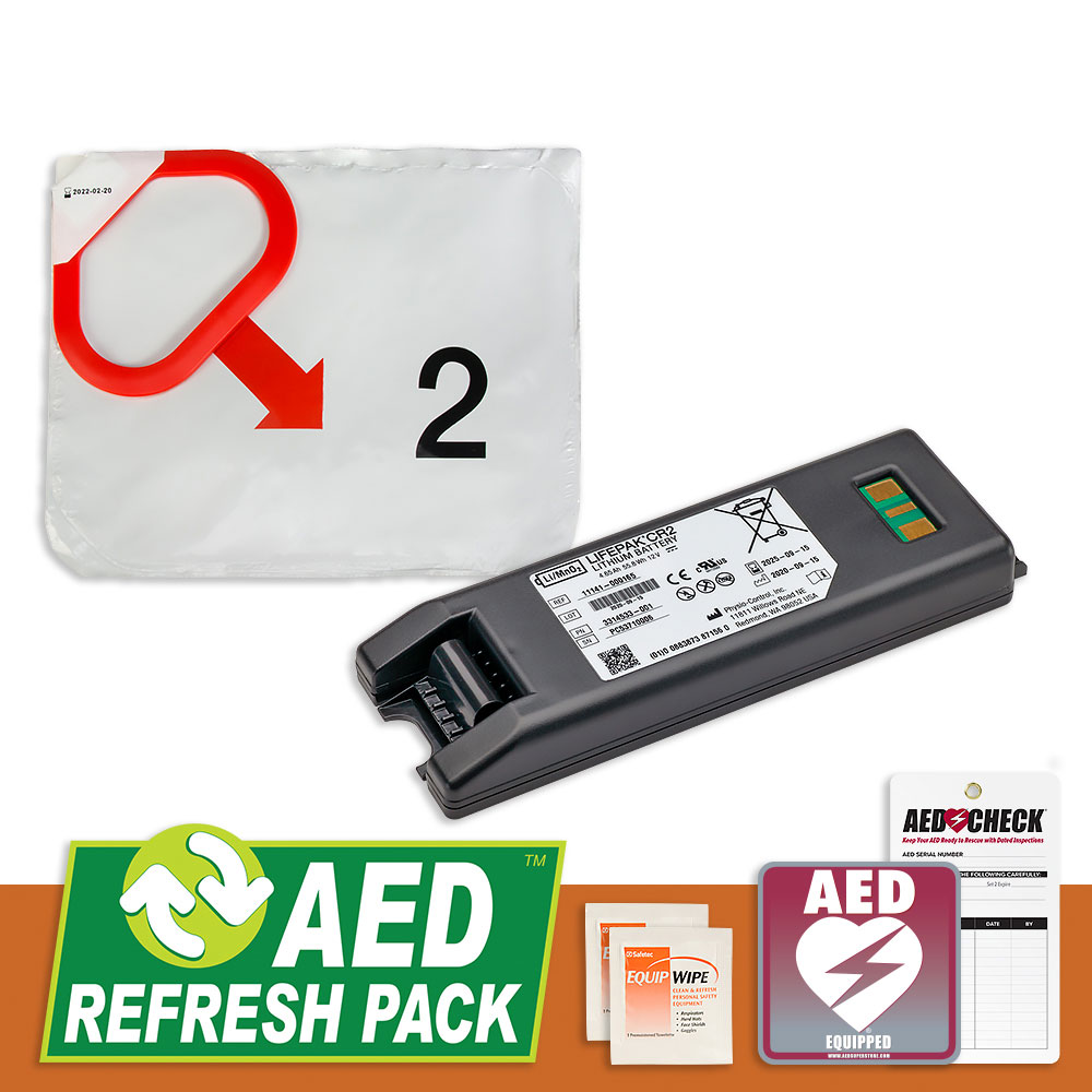 Physio-Control CR2 AED Refresh Pack