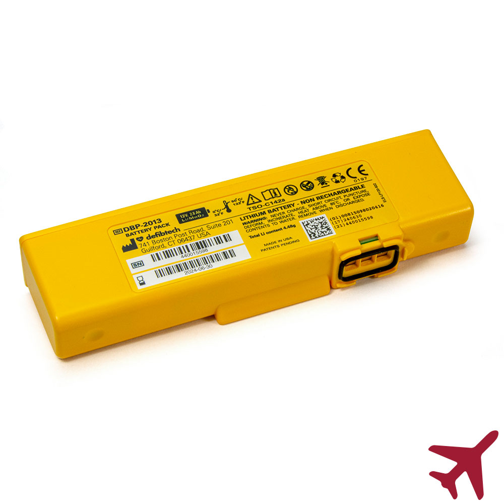 Defibtech Lifeline VIEW Aviation Battery