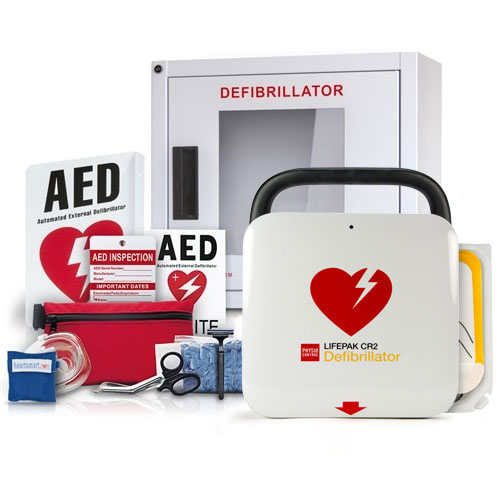 Physio Control Lifepak CR2 AED Value Package