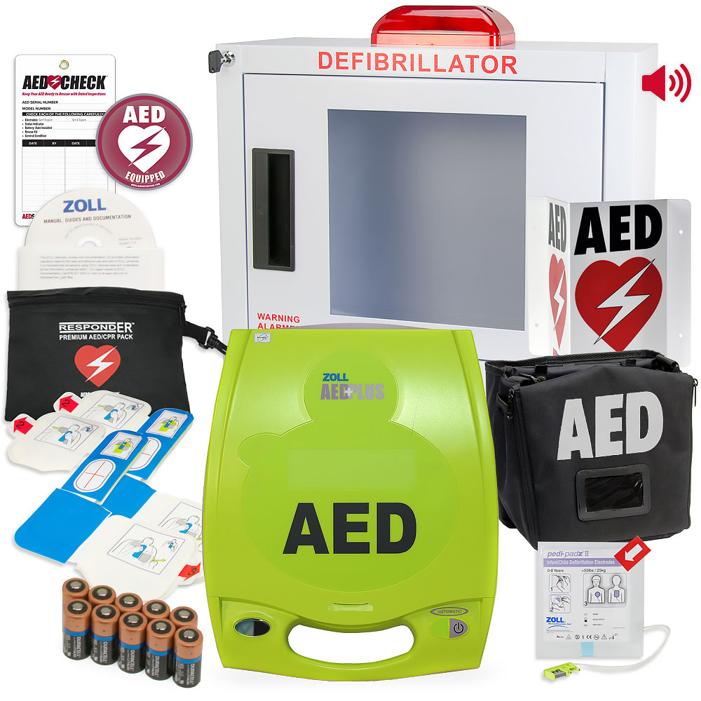 ZOLL AED Plus Church/Worship Value Package