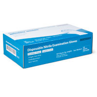 Nitrile Exam Gloves - 100/Box (Various Sizes)