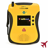 Defibtech Lifeline ECG Aviation AED Package