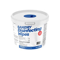 SANIDRY Alcohol-Free Disinfecting Wipes - 300 Count Tub