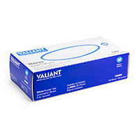 Valiant Powder Free Chemo-Rated Nitrile Examination Gloves - 100/Box, Various Sizes