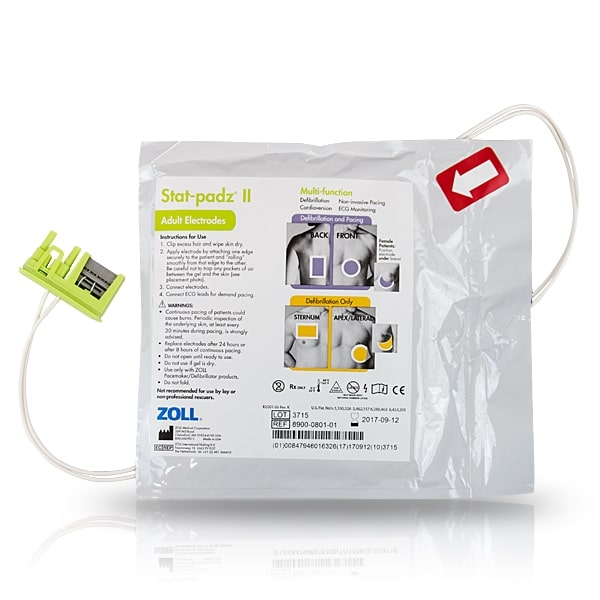 ZOLL AED Stat Padz II - Case of 12