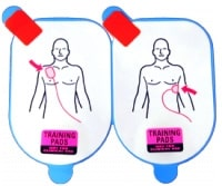 Defibtech Lifeline Adult Training Pads (5 Pack - pads only)