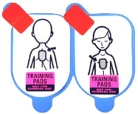 Defibtech Lifeline Pediatric Training Pads (5 Pack - pads only)