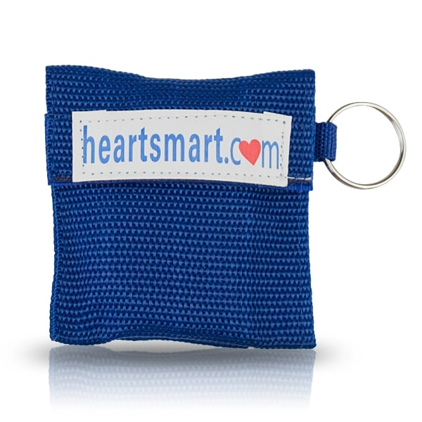 Heart Smart Quick Response KeyChain