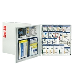 Smart Compliance ANSI A+ Kit w/Medications in Large Metal Cabinet by First Aid Only