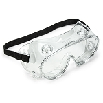 Splash Resistant Goggles w/Anti-Fog & Anti-Scratch Coating