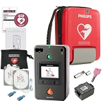 Philips HeartStart FR3 AED Aviation Value Package