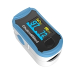 Finger Pulse Oximeter with Dual Color OLED Display by ChoiceMMED
