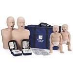 PRESTAN® TAKE2 Manikins w/CPR Monitors and AED Trainers Package