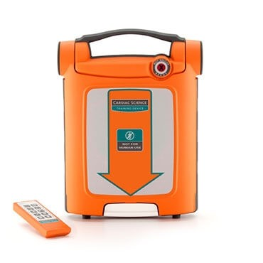Cardiac Science Powerheart G5 AED Trainer at heartsmart.com