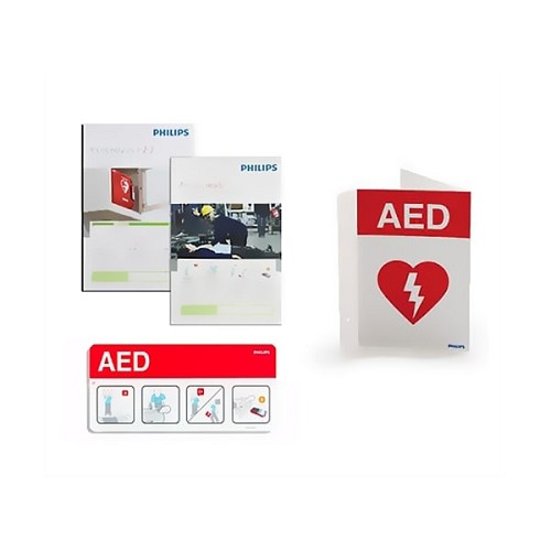 Philips AED Signage Bundle at heartsmart.com