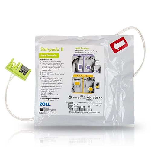 ZOLL AED Stat Padz II - Case of 12 at heartsmart.com