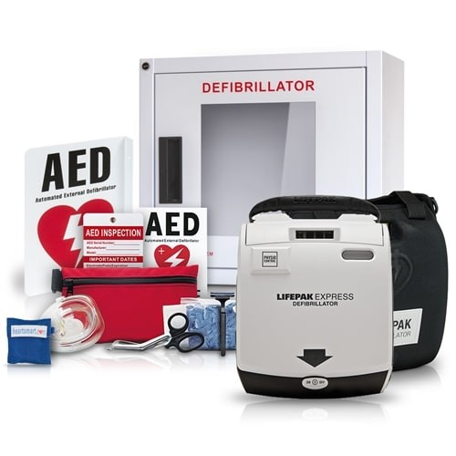Physio-Control LIFEPAK Express Value Package at heartsmart.com