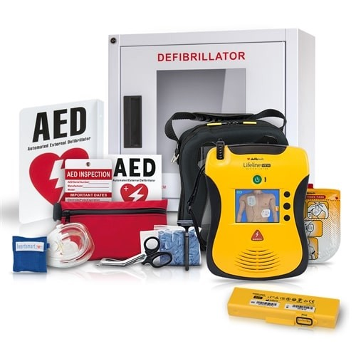 Defibtech Lifeline View AED Value Package at heartsmart.com