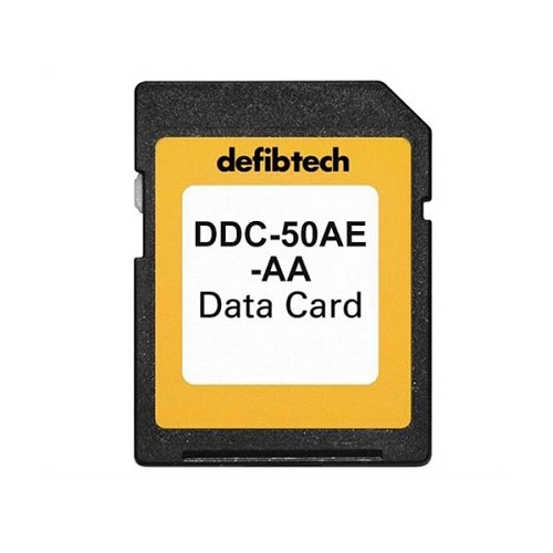 Defibtech Lifeline Medium Capacity Data Card (w/Audio) at heartsmart.com