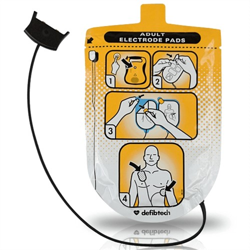 Defibtech Lifeline Adult AED Pads at heartsmart.com