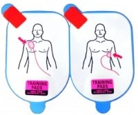 Defibtech Lifeline Adult Training Pads (5 Pack - pads only) at heartsmart.com