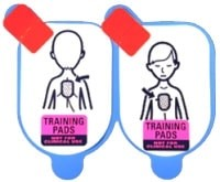 Defibtech Lifeline Pediatric Training Pads (5 Pack - pads only) at heartsmart.com