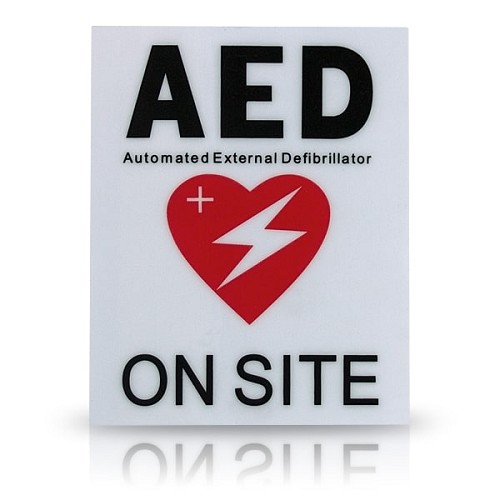 AED Facility Decal at heartsmart.com