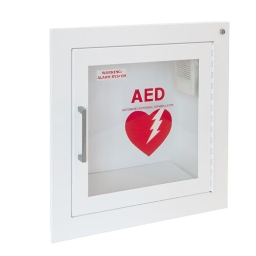 JL Fully Recessed AED Cabinet, 1415F12 at heartsmart.com