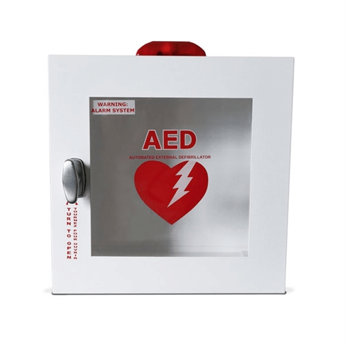 JL Outdoor AED Cabinet at heartsmart.com