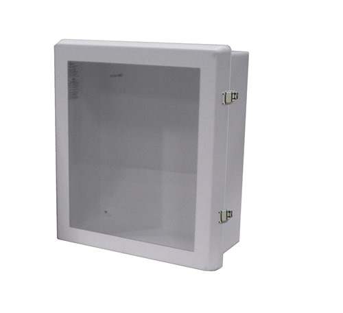 JL Water Resistant AED Wall Cabinet at heartsmart.com