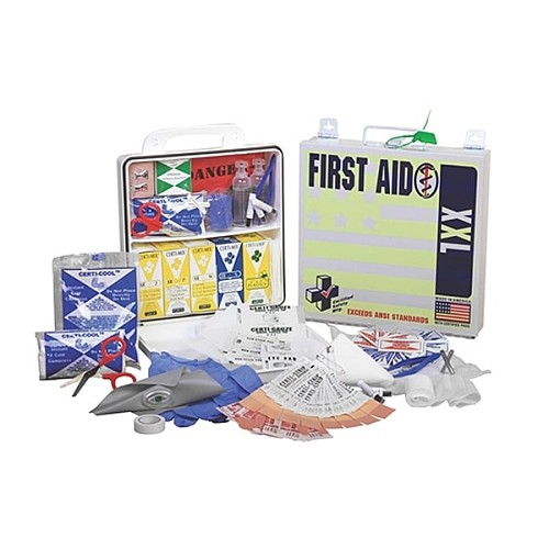 First Aid - 24PW - ANSI XXL Deluxe - 50 Person at heartsmart.com