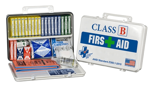 Class B First Aid Kits, K615-017 and K615-019 at heartsmart.com