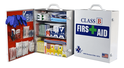 Class B First Aid Kit/ Cabinet, K615-025 at heartsmart.com