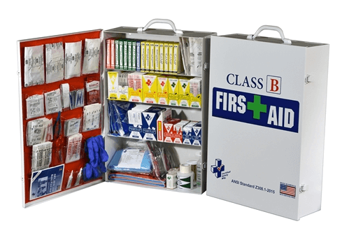 Class B First Aid Kit/ Cabinet, K615-029 at heartsmart.com