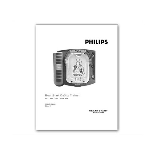 Philips OnSite AED Trainer Manual-M5085-91900