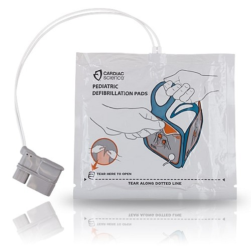 Cardiac Science Powerheart G5 - Pediatric Defibrillation Electrode Pads at heartsmart.com
