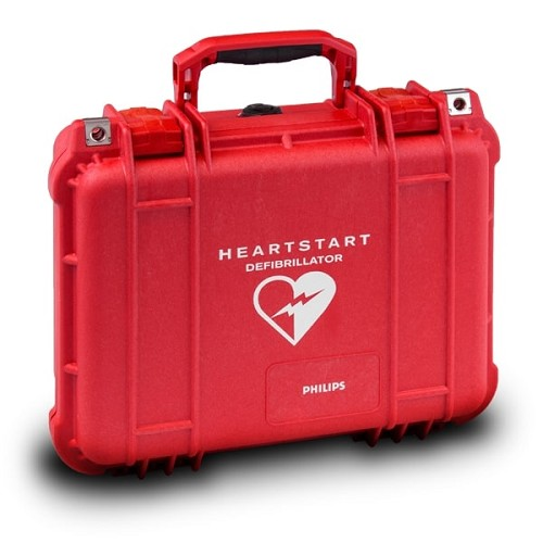 Philips Hard Carrying Case - Waterproof at heartsmart.com