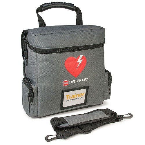 Physio-Control LIFEPAK® CR2 AED Trainer Carry Case at heartsmart.com