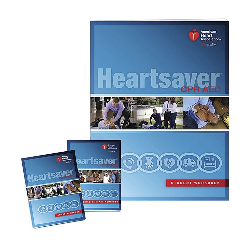 AHA 2015 Heartsaver® CPR AED Student Workbook at heartsmart.com