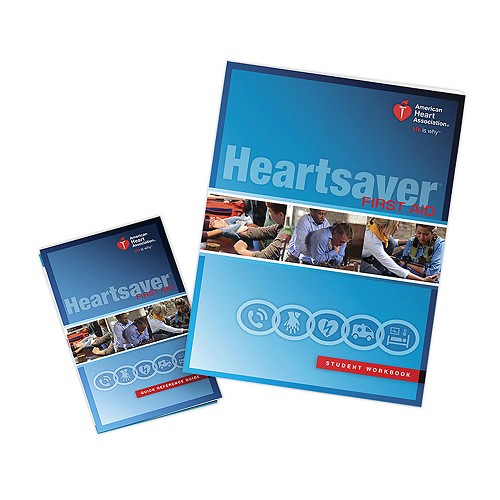 AHA 2015 Heartsaver First Aid Student Workbook at heartsmart.com