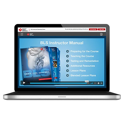 AHA 2015 BLS Instructor Essentials Online Key Code at heartsmart.com