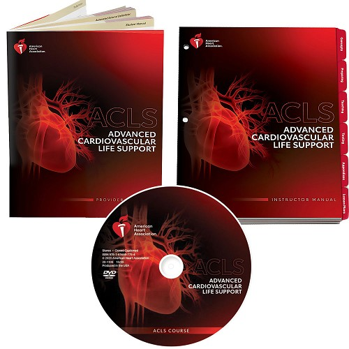 AHA 2020 ACLS Instructor Package w/DVD at heartsmart.com